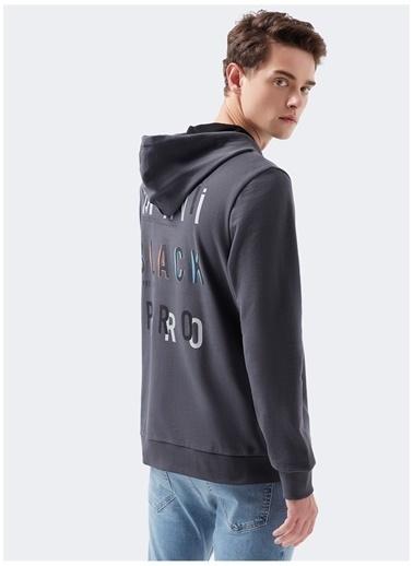 Mavi Mavi 066648-32167 Black Fermuarlı Sweatshirt Gri
